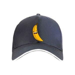 Cap Banana smile stars