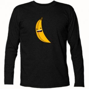 Long Sleeve T-shirt Banana smile stars