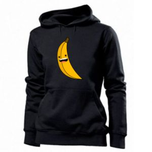 Women's hoodies Banana smile stars