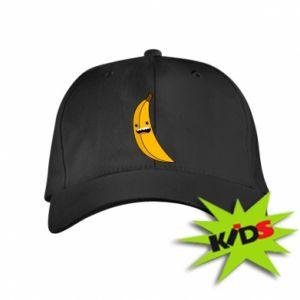 Kids' cap Banana smile stars