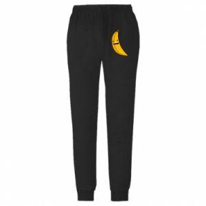 Spodnie lekkie męskie Bananowe gwiazdy uśmiechu