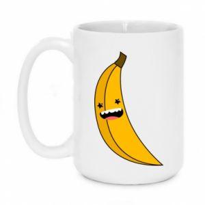 Mug 450ml Banana smile stars