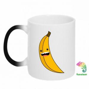 Kubek-kameleon Bananowe gwiazdy uśmiechu