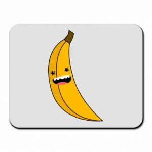 Mouse pad Banana smile stars