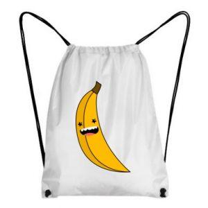 Backpack-bag Banana smile stars