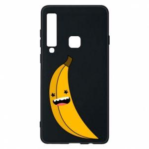 Etui na Samsung A9 2018 Bananowe gwiazdy uśmiechu
