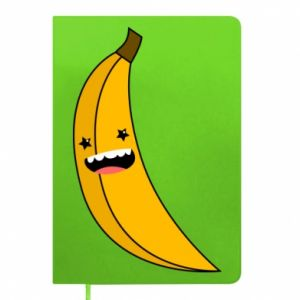 Notepad Banana smile stars