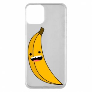 Phone case for iPhone 11 Banana smile stars