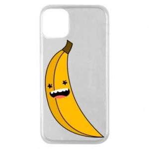 Phone case for iPhone 11 Pro Banana smile stars