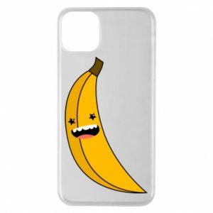 Phone case for iPhone 11 Pro Max Banana smile stars