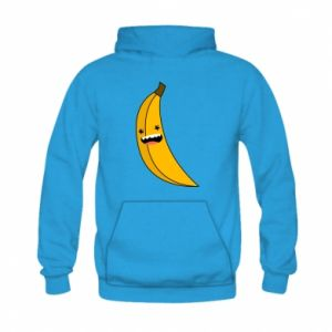 Kid's hoodie Banana smile stars