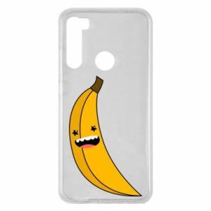 Xiaomi Redmi Note 8 Case Banana smile stars