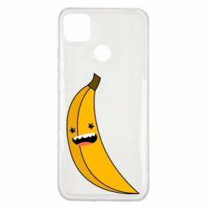 Xiaomi Redmi 9c Case Banana smile stars