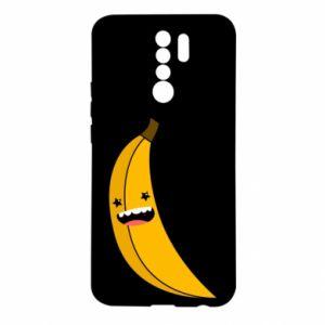 Xiaomi Redmi 9 Case Banana smile stars