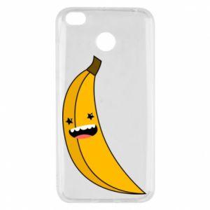 Xiaomi Redmi 4X Case Banana smile stars