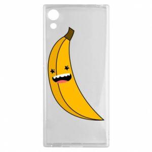 Sony Xperia XA1 Case Banana smile stars