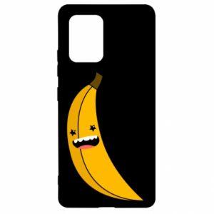 Samsung S10 Lite Case Banana smile stars