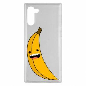 Samsung Note 10 Case Banana smile stars