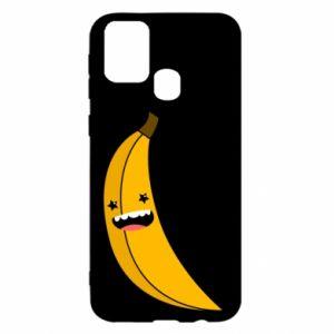 Samsung M31 Case Banana smile stars