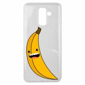 Samsung J8 2018 Case Banana smile stars
