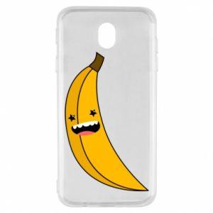 Samsung J7 2017 Case Banana smile stars
