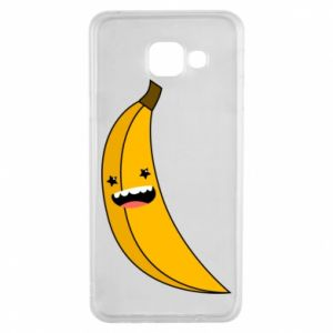 Samsung A3 2016 Case Banana smile stars