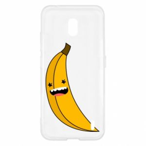 Nokia 2.2 Case Banana smile stars