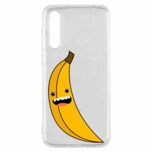 Huawei P20 Pro Case Banana smile stars