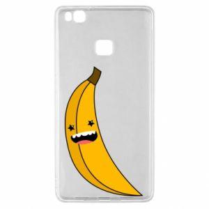 Huawei P9 Lite Case Banana smile stars
