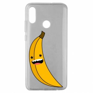 Huawei Honor 10 Lite Case Banana smile stars