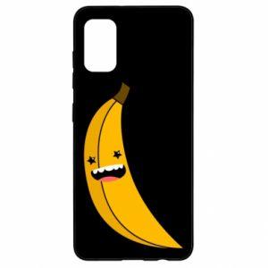 Samsung A41 Case Banana smile stars