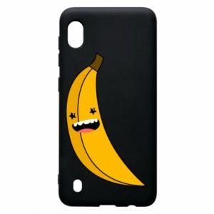 Samsung A10 Case Banana smile stars
