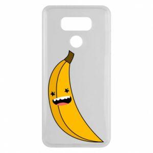 LG G6 Case Banana smile stars