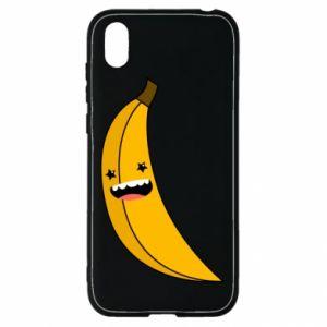 Huawei Y5 2019 Case Banana smile stars