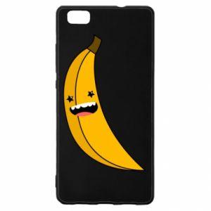 Huawei P8 Lite Case Banana smile stars