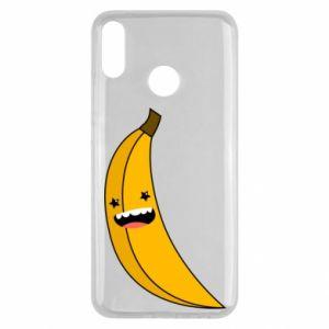 Huawei Y9 2019 Case Banana smile stars