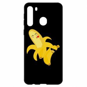 Samsung A21 Case Bananas
