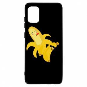 Samsung A31 Case Bananas