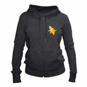 Women's zip up hoodies Bananas