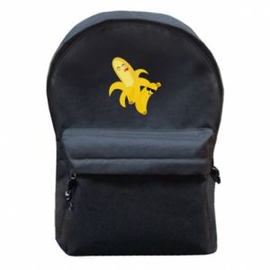Backpack with front pocket Bananas