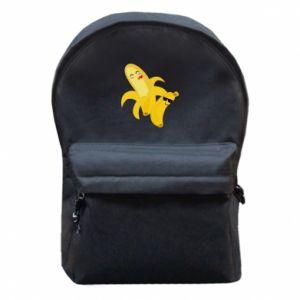 Plecak z przednią kieszenią Banany - PrintSalon