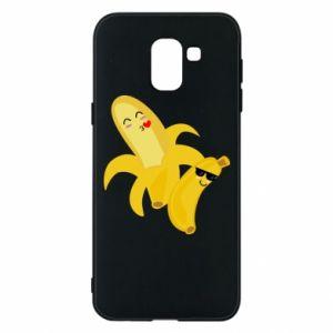 Samsung J6 Case Bananas