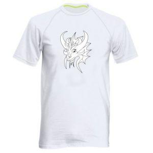 Koszulka sportowa męska Bardzo duży smok