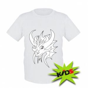 Koszulka dziecięca Bardzo duży smok