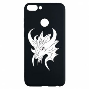 Phone case for Huawei P Smart Very big dragon