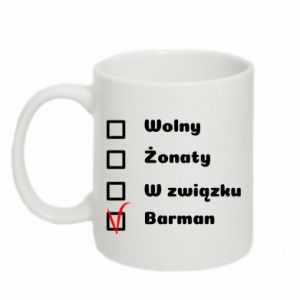 Mug 330ml Barman - PrintSalon
