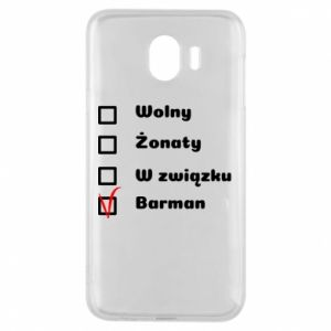 Phone case for Samsung J4 Barman - PrintSalon