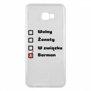 Etui na Samsung J4 Plus 2018 Barman