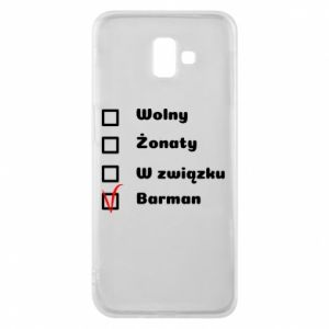 Phone case for Samsung J6 Plus 2018 Barman - PrintSalon