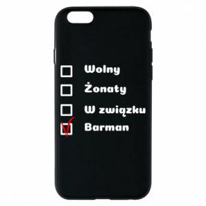 Etui na iPhone 6/6S Barman